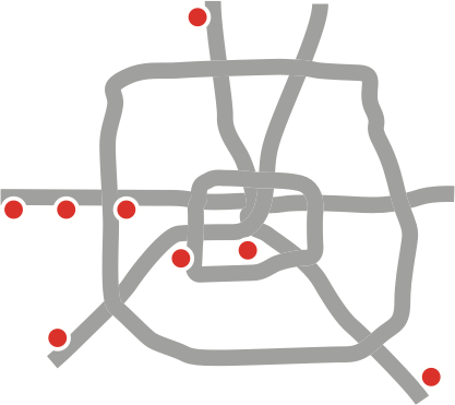 Map of MD Anderson locations in the Greater Houston Area