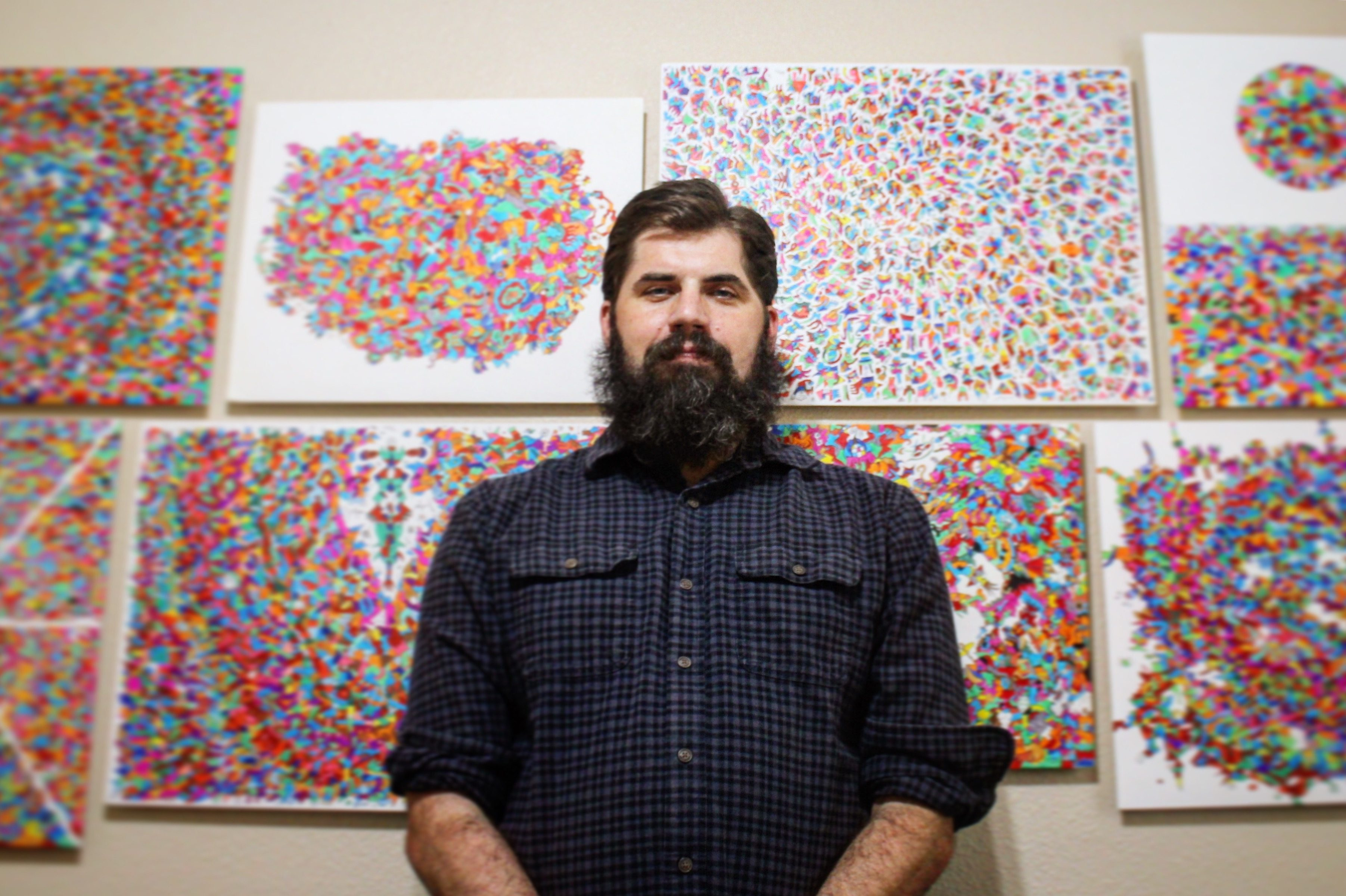 Cancerwise blog post: Brain tumor survivor uses art to cope with brain tumor treatment