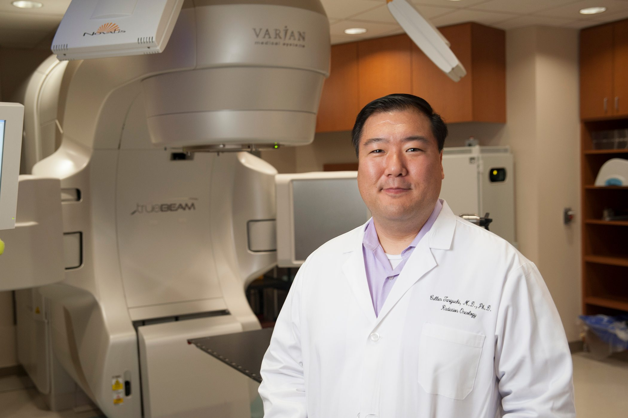 Radiation oncologist and anal cancer expert Cullen Taniguchi, M.D., Ph.D.