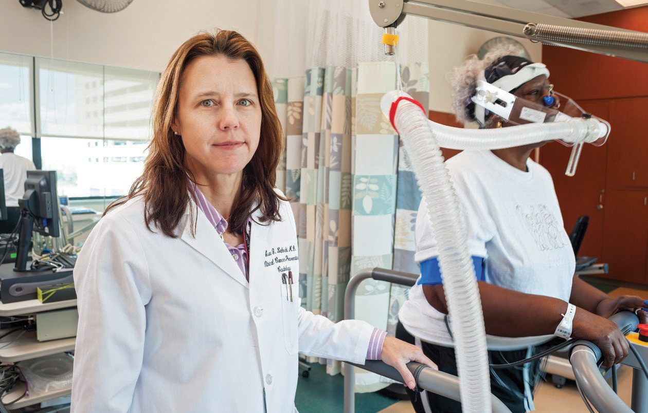 Susan Gilchrist, M.D., heads the Healthy Heart program at MD Anderson.