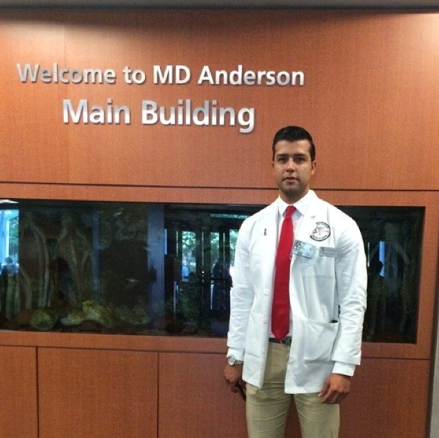 Read about colon cancer patient Edgar Garcia who decided to become a physician assistant after his treatment at MD Anderson.