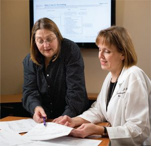 Therese Bevers, M.D., discusses the American Cancer Society's new mammogram guidelines.