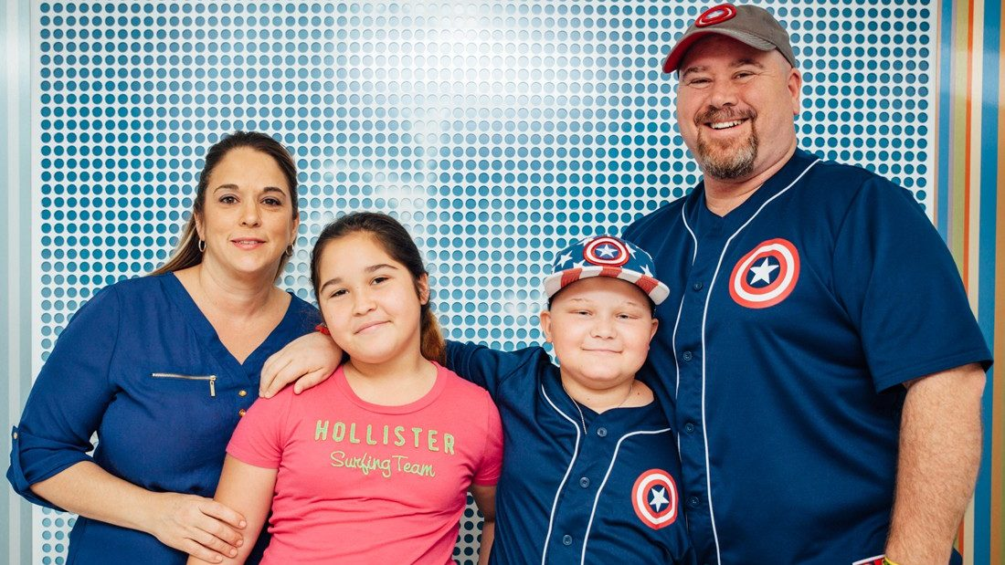 Cancerwise blog post: Father of pediatric bone cancer patient shares advice on childhood cancer