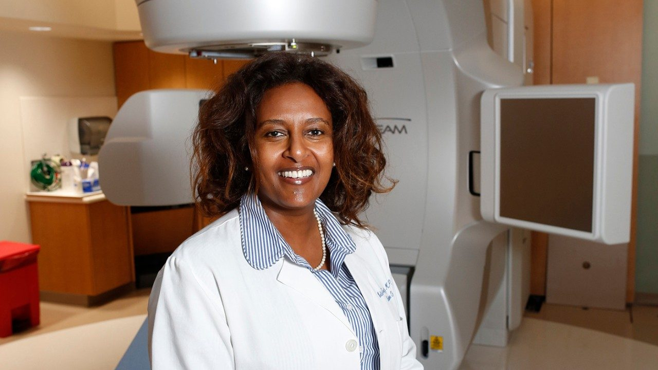 MD Anderson chief medical officer Welela Tereffe, M.D.