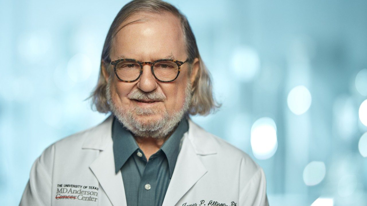 Nobel Prize-winning immunotherapy researcher Jim Allison, Ph.D.