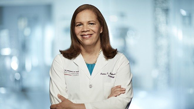 Breast cancer pathologist Lavinia Middleton, M.D.