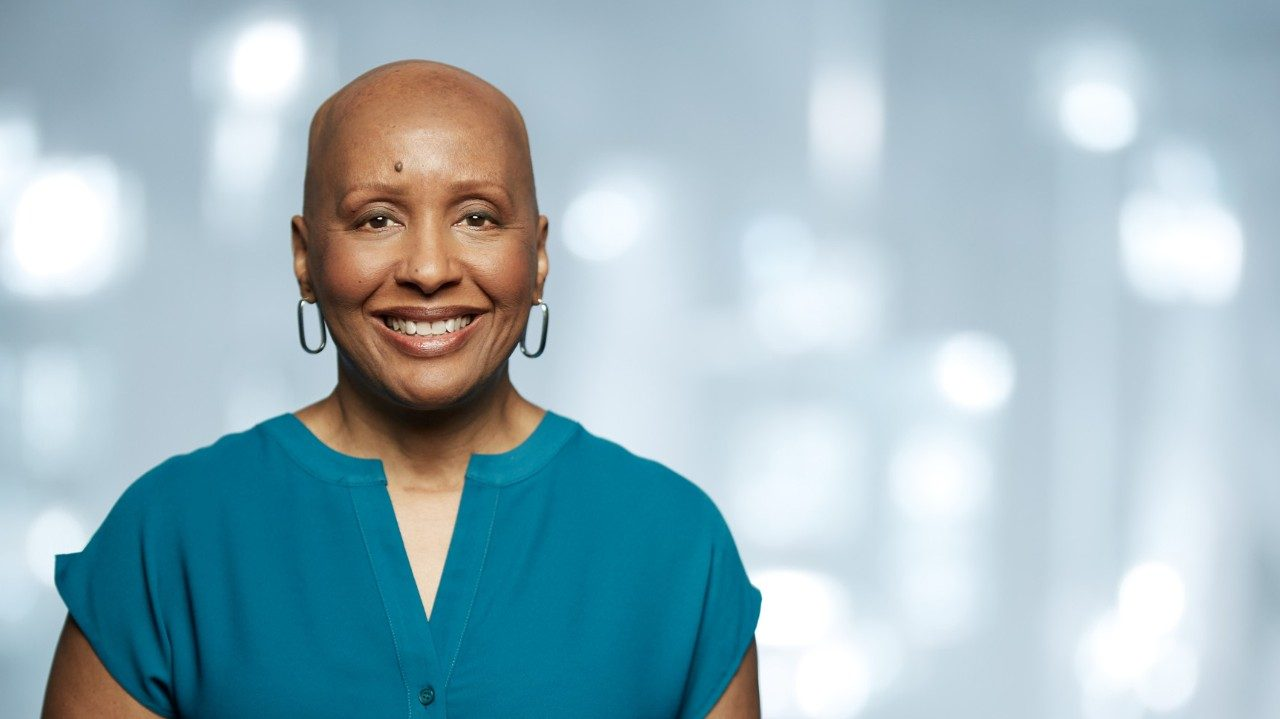 Breast cancer survivor Constance Porter, Ph.D.
