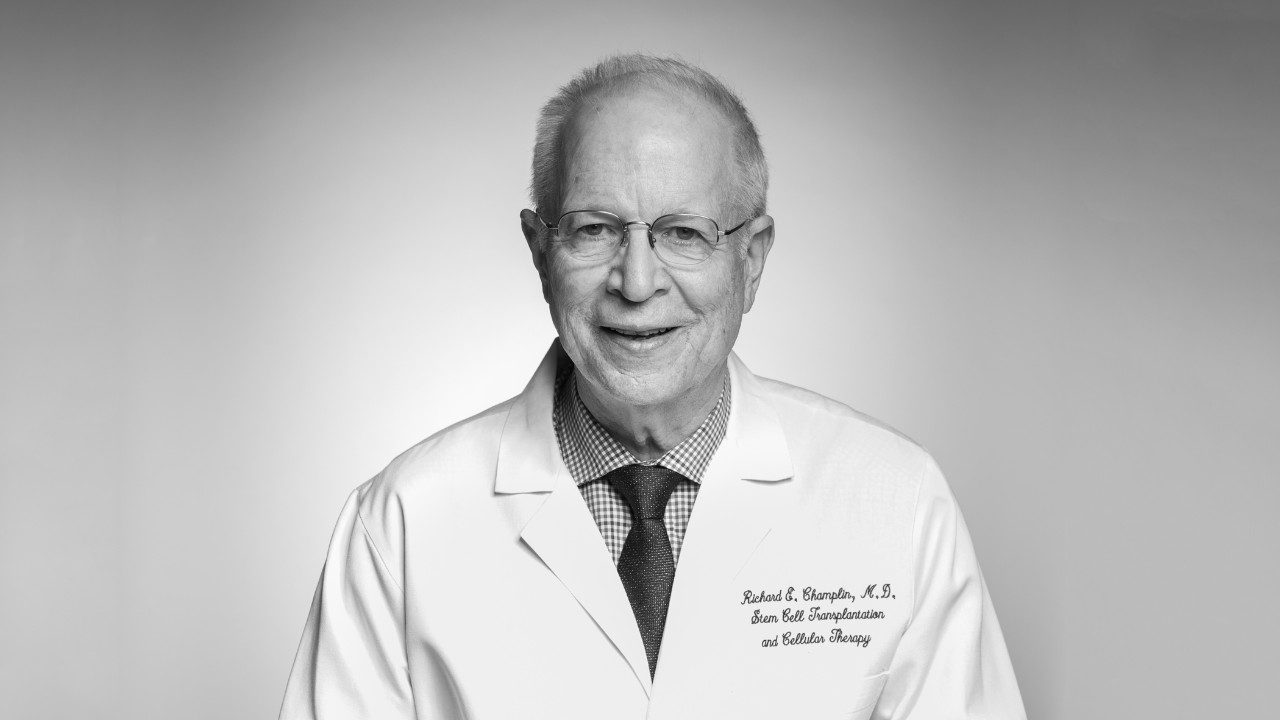 Richard Champlin, M.D.