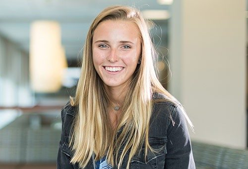 MD Anderson President Peter Pisters, M.D, with advanced practice registered nurse Laurie Hughes and cancer survivor Cherie Rineker