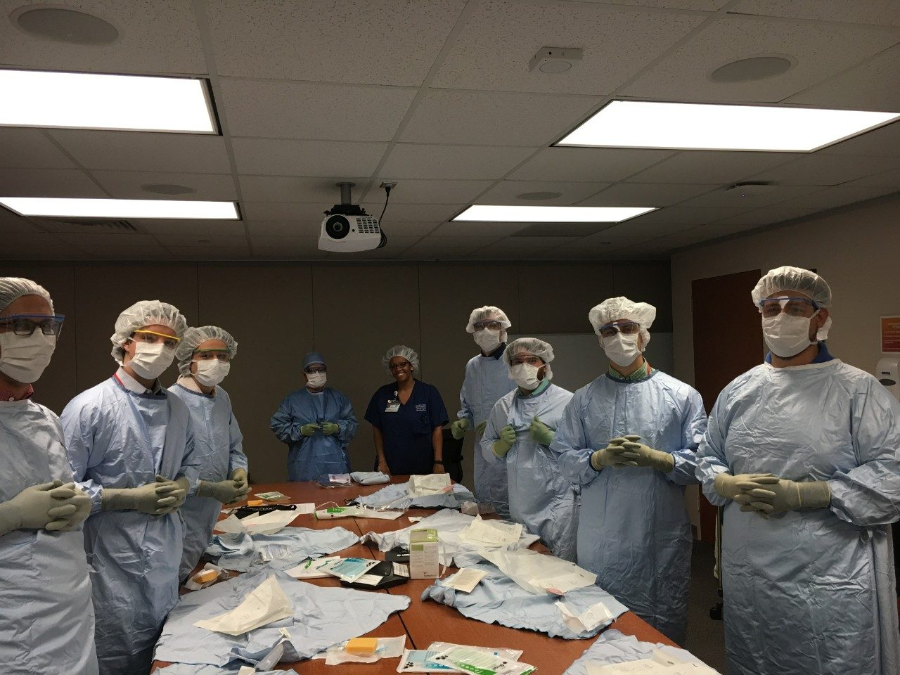 Image of Summer Experience students in First-Year Medical Student program