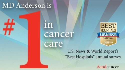 Top cancer hospital graphic