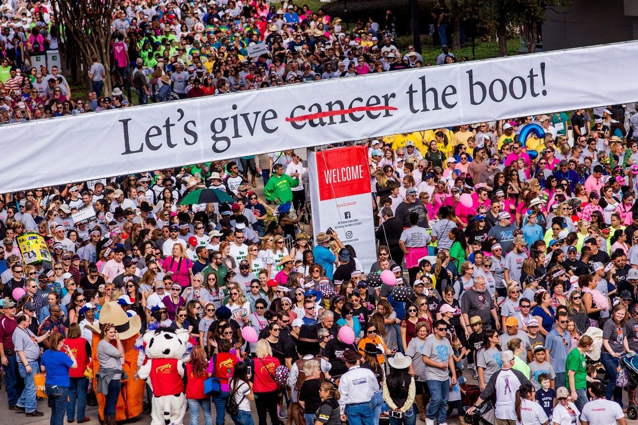2016 Boot Walk to End Cancer