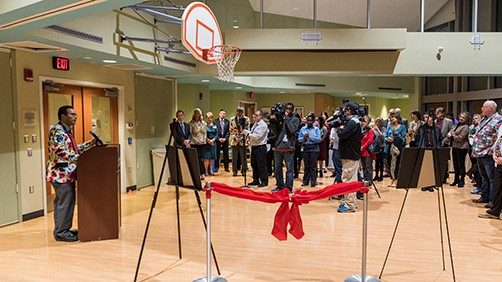 Craig's Court at the MD Anderson Children's Cancer Hospital