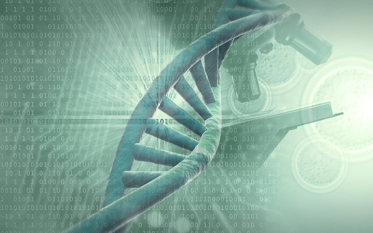 genetic testing stock image