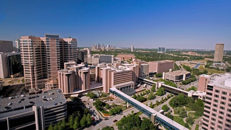 MD Anderson building