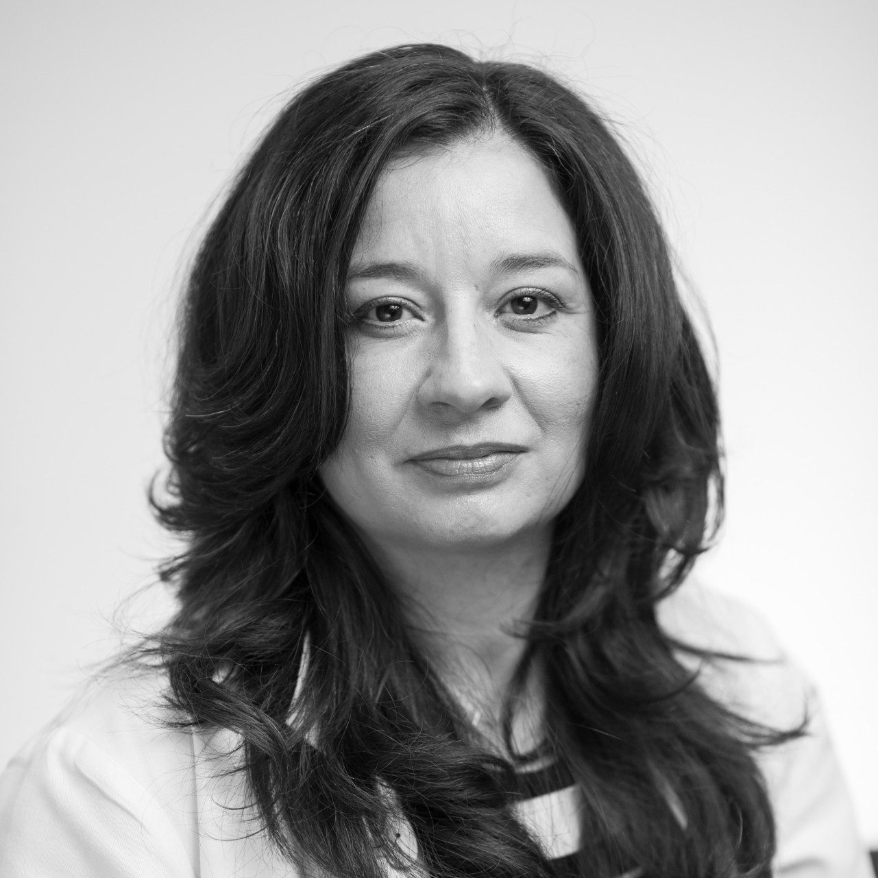 Maria E. Cabanillas, M.D., an oncologic endocrinologist who specializes in the treatment of thyroid cancer