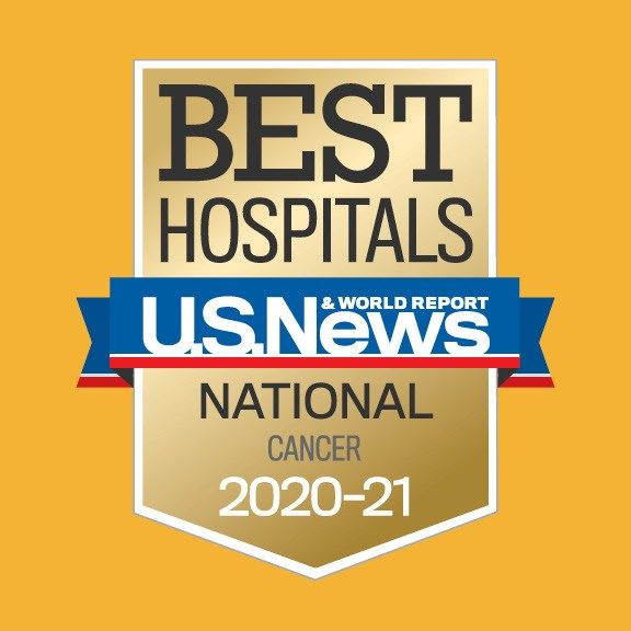 U.S. News #1 cancer hospital