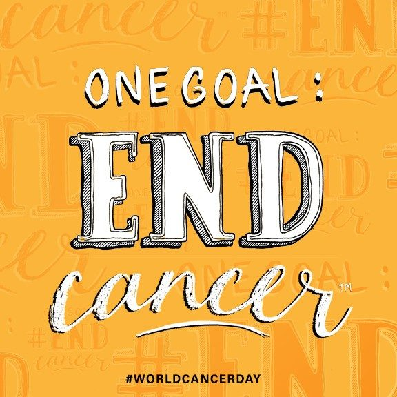 One goal: End cancer