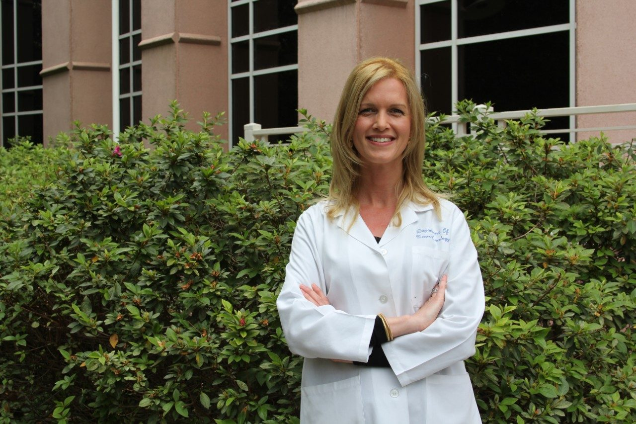 Neuro-oncologist Barbara O'Brien, M.D., is working to improve LMD diagnosis and treatment.