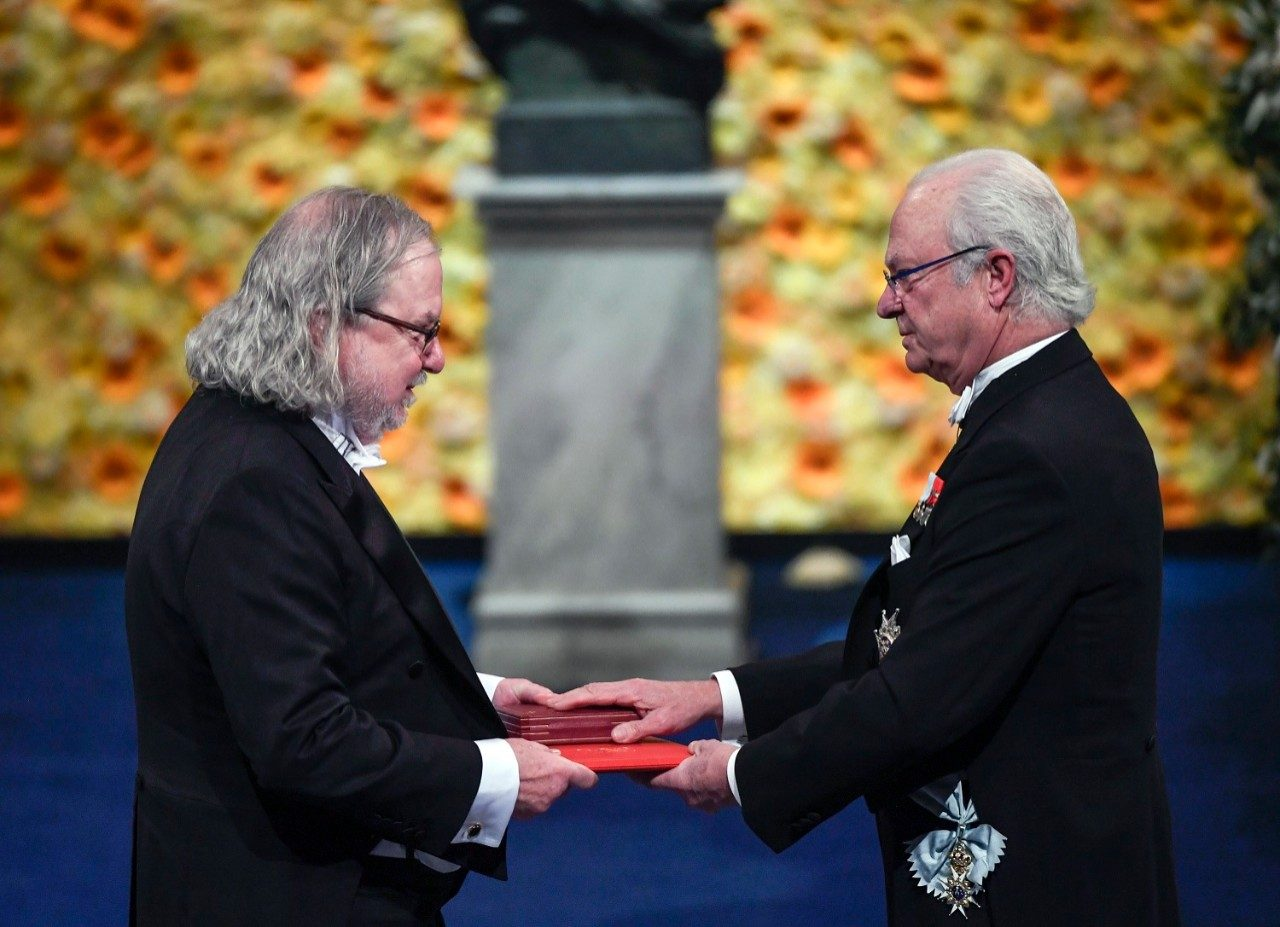 Jim Allison, Ph.D., receives the Nobel Prize