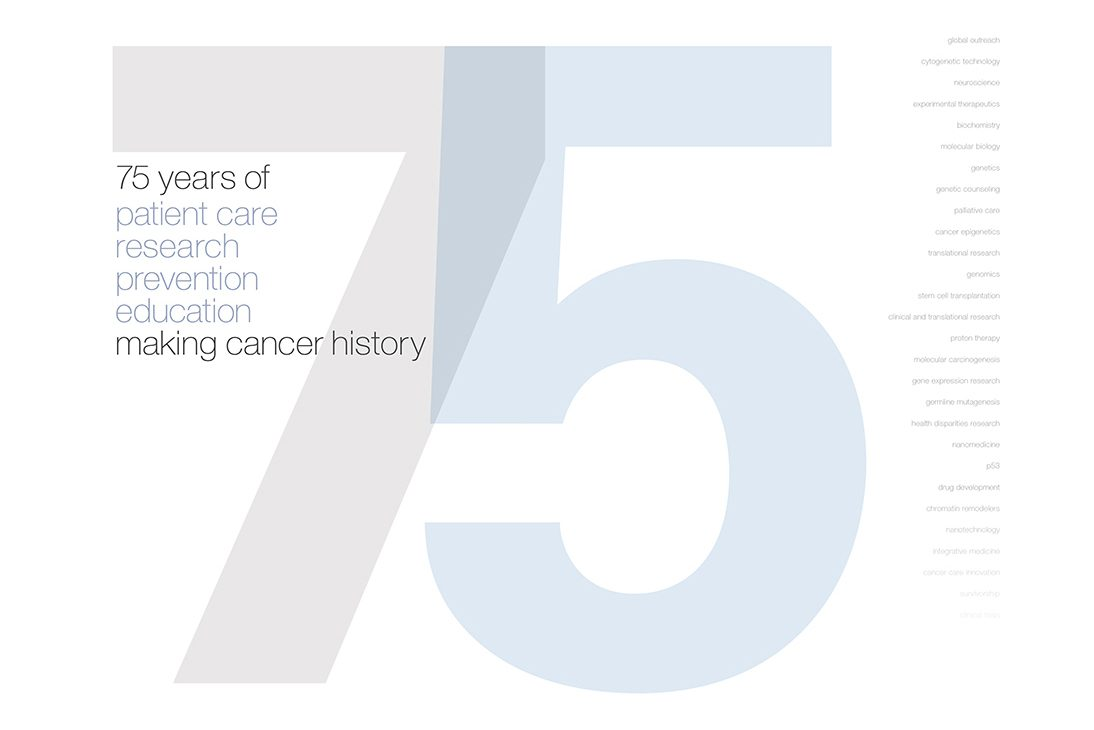 75 years of Making cancer history