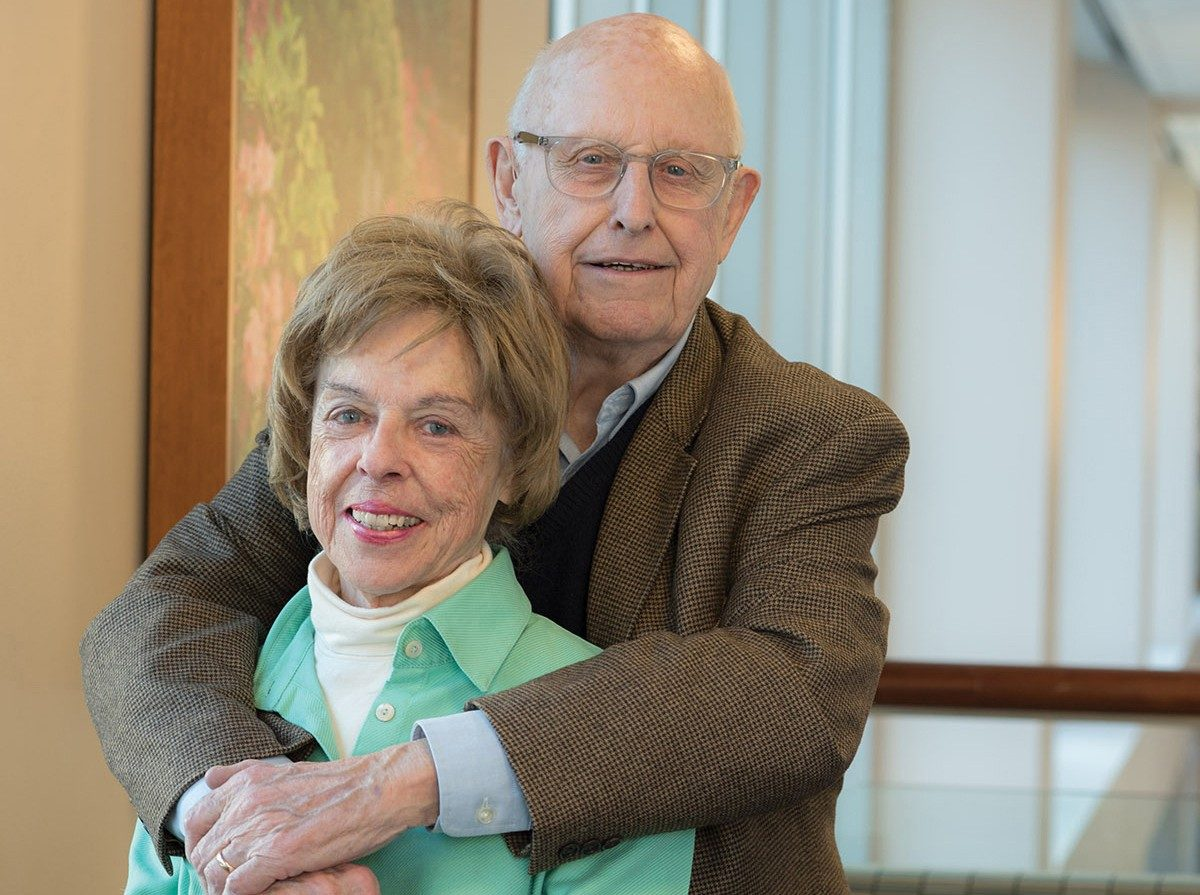 Deanna Brinkman and her husband, Ray, travel to MD Anderson from their home in Virginia for her treatment and check-ups.