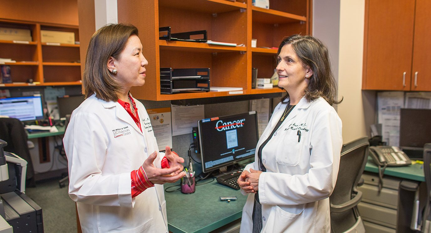 Karen Lu, M.D., and Banu Arun, M.D.