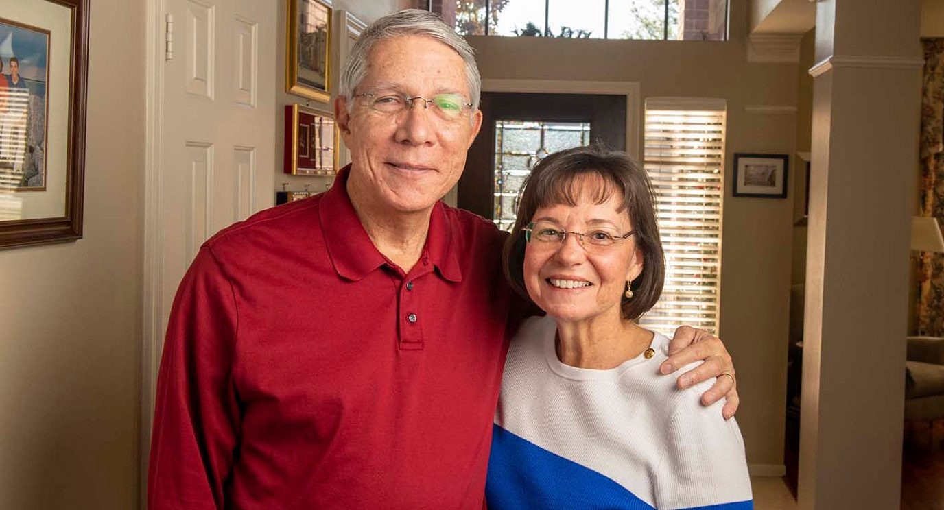 When Robert Galvez was diagnosed with cancer, he encouraged his wife, Cynthia, to join a caregiver support group.