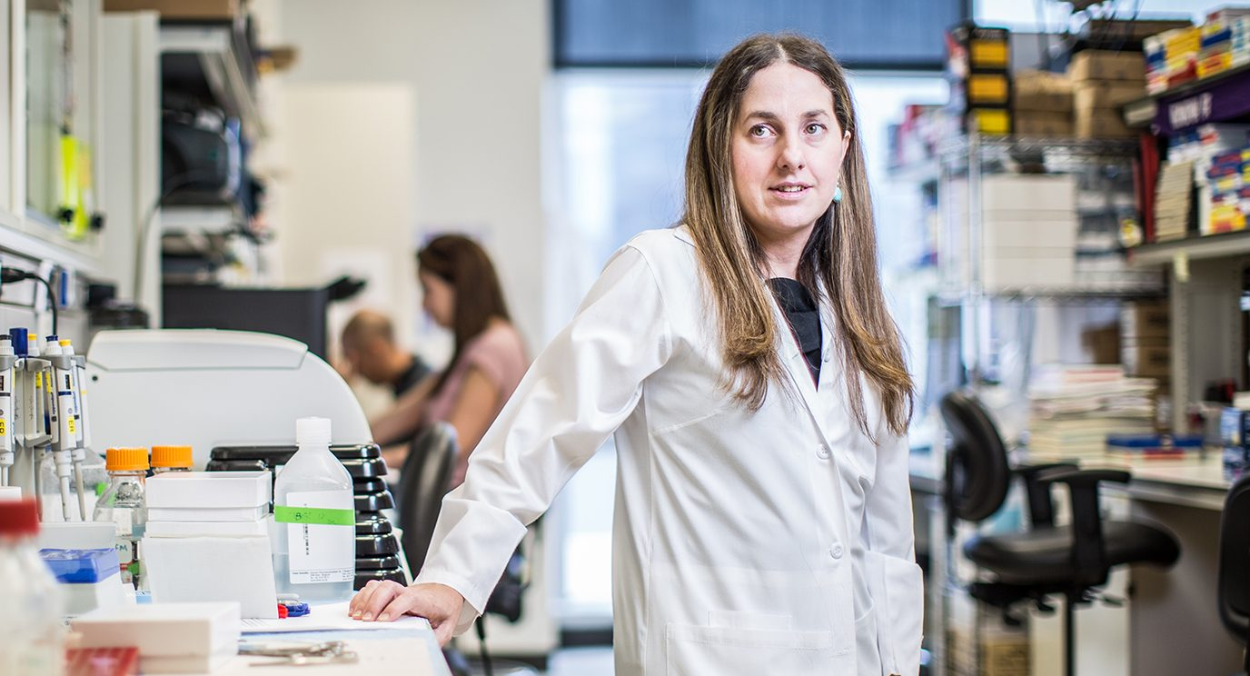 Florencia McAllister, M.D., was inspired to become a pancreatic cancer doctor and researcher after her mother and grandfather died from the disease.