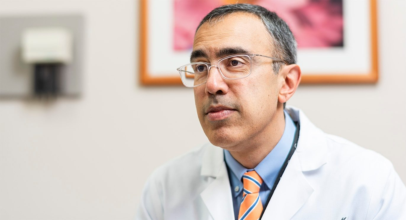 Amir Jazaeri, M.D., led a clinical trial testing TIL cells for the treatment of cervical cancer.