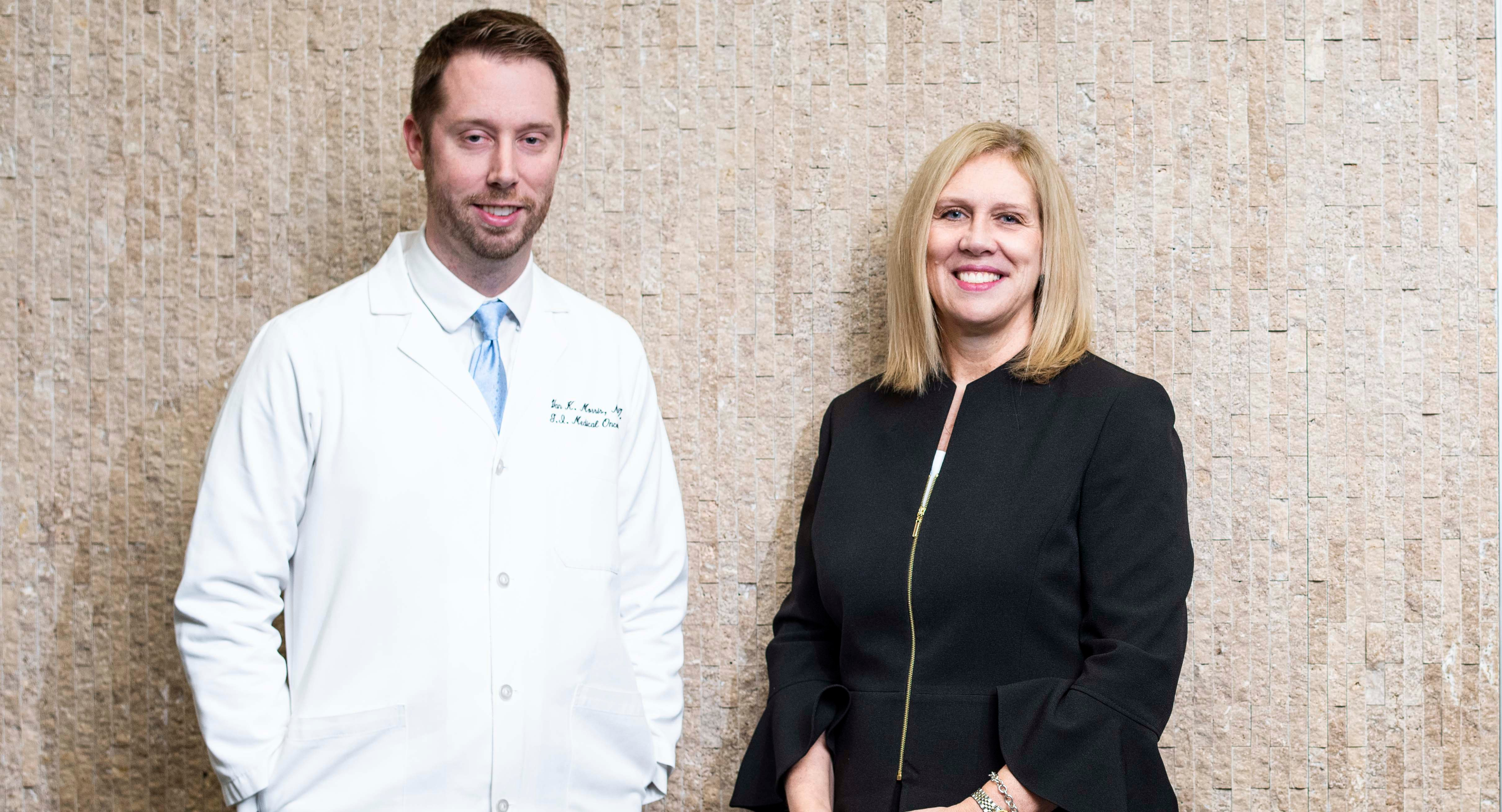 Van Morris, M.D., says Diane Bodurka, M.D., has been instrumental in guiding his career from his earliest days as a medical student.