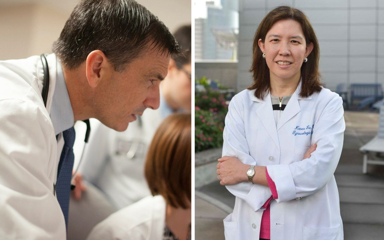 John Heymach, M.D., Ph.D., lung cancer and Karen Lu, M.D. breast and ovarian cancer