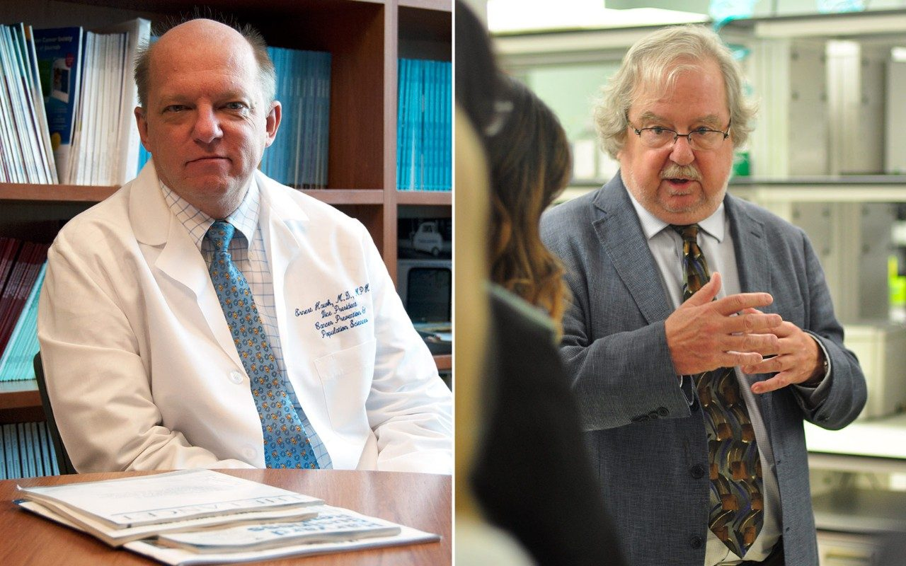 Ernest Hawk, M.D. and Jim Allison, Ph.D.