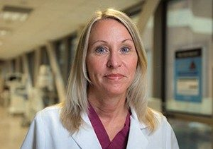 Denise Nebgen, M.D., Ph.D., associate professor of Gynecologic Oncology and Reproductive Medicine