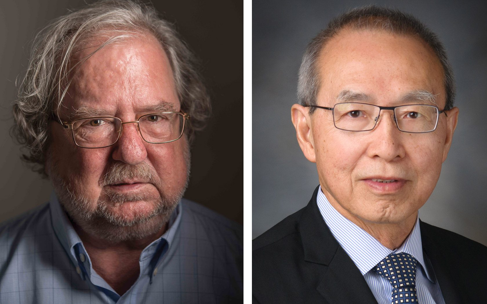 Jim Allison, Ph.D., and W.K. Alfred Yung, M.D.