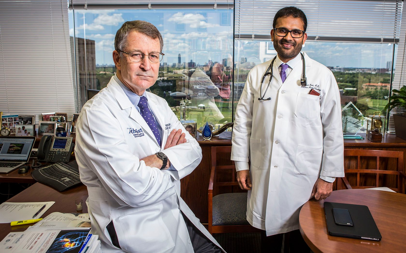 Michael Reardon, M.D., and Vinod Ravi, M.D.