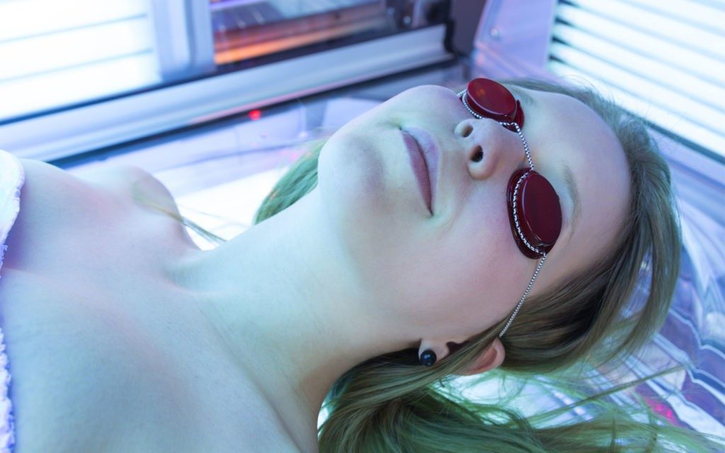 Tanning bed ban skin cancer prevention