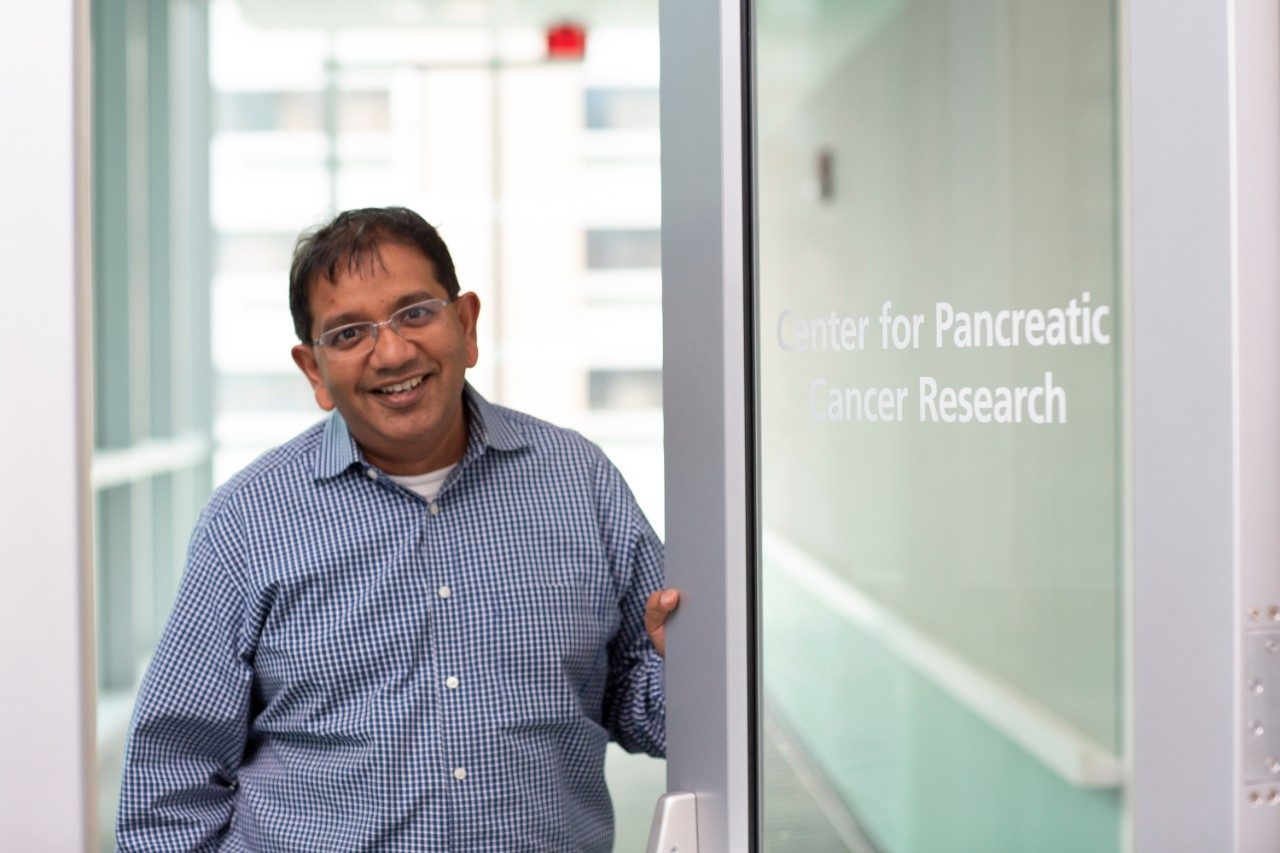 Pancreatic Cancer Moon Shot co-leader Anirban Maitra, M.B.B.S.