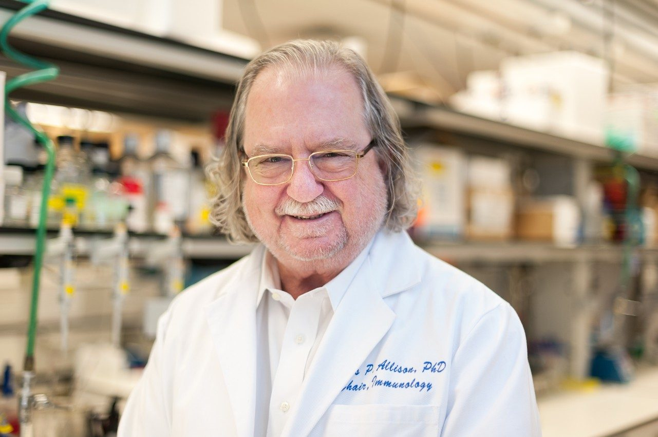 Jim Allison, Ph.D. immunotherapy