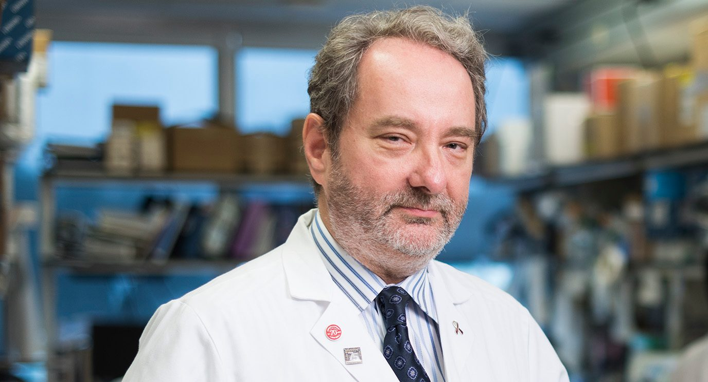 Robert Orlowski, M.D., Ph.D., leads a Moon Shot dedicated to finding new, longer-lasting options for patients with high-risk multiple myeloma, including a variety of immunotherapy options.