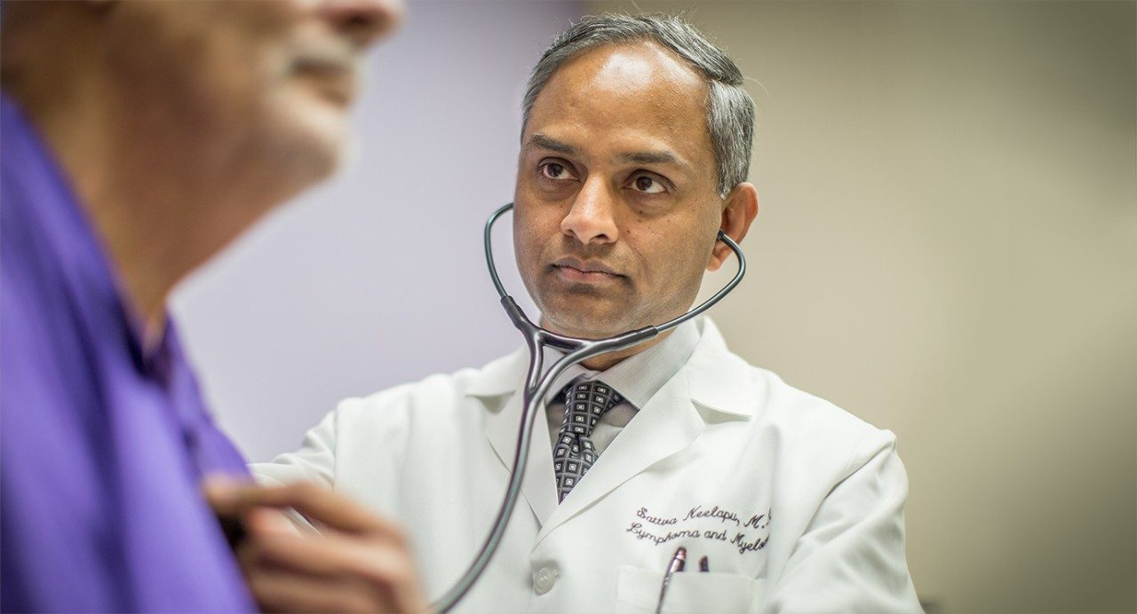 Sattva Neelapu, M.D., Ph.D., notes that 80% of relapsed, refractory large B-cell lymphoma patients respond to CAR T cell therapy, but only about 40% enjoy long-term remission.