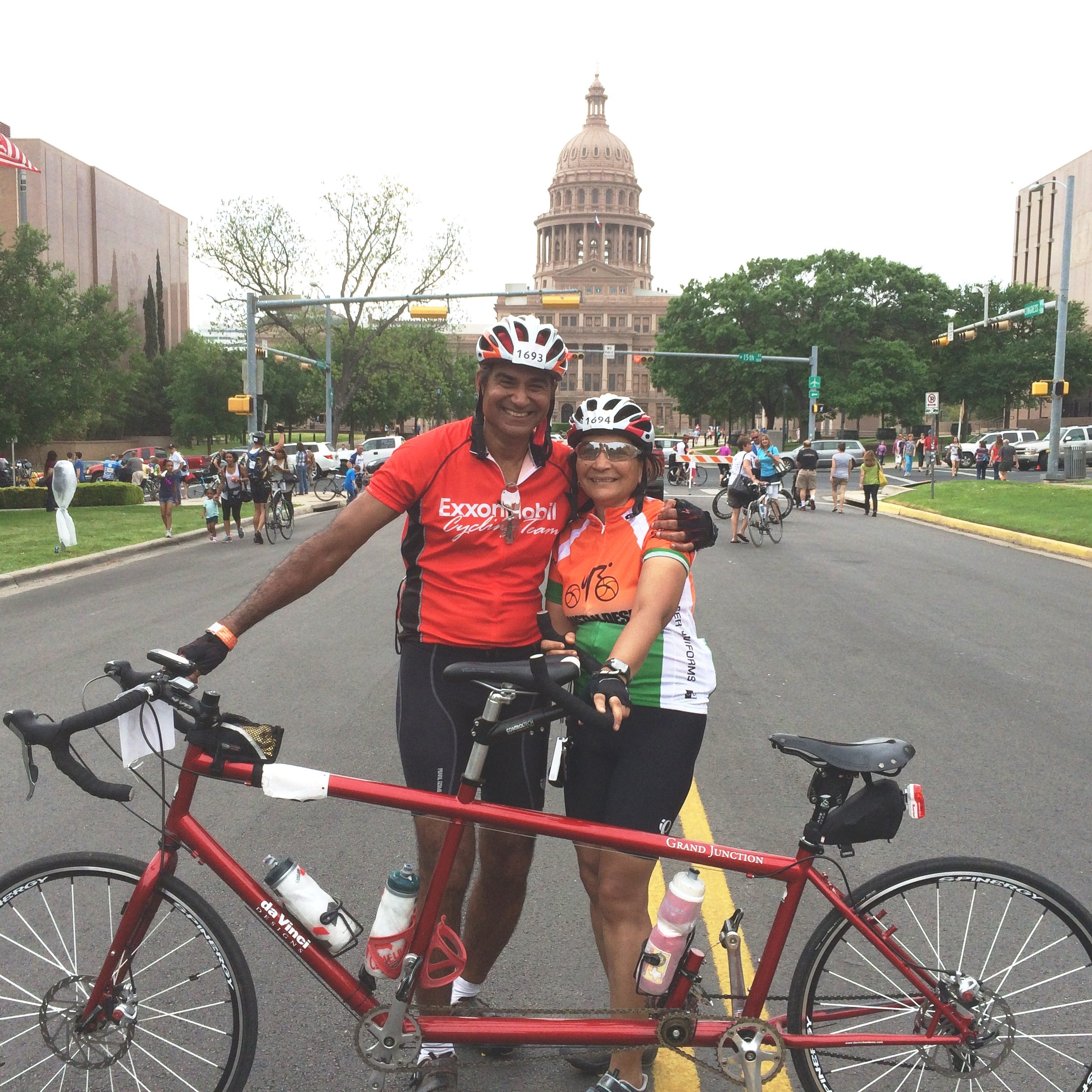 Sixteen years after completing MDS treatment, Rani Kabra rode more than 150 miles in the MS150 cycling race.