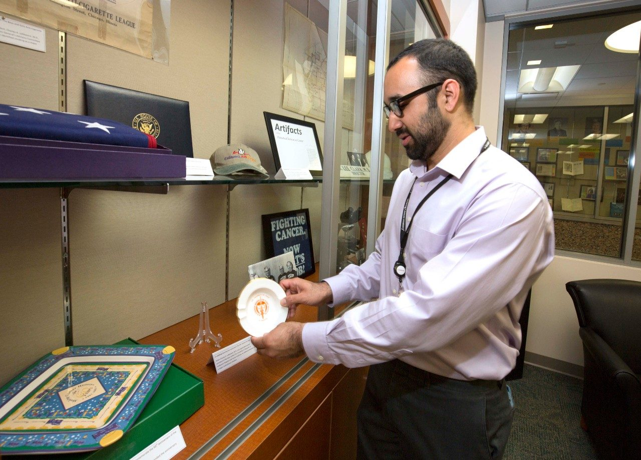 Learn about the Historical Resources Center of MD Anderson Cancer Center's Research Medical Library.