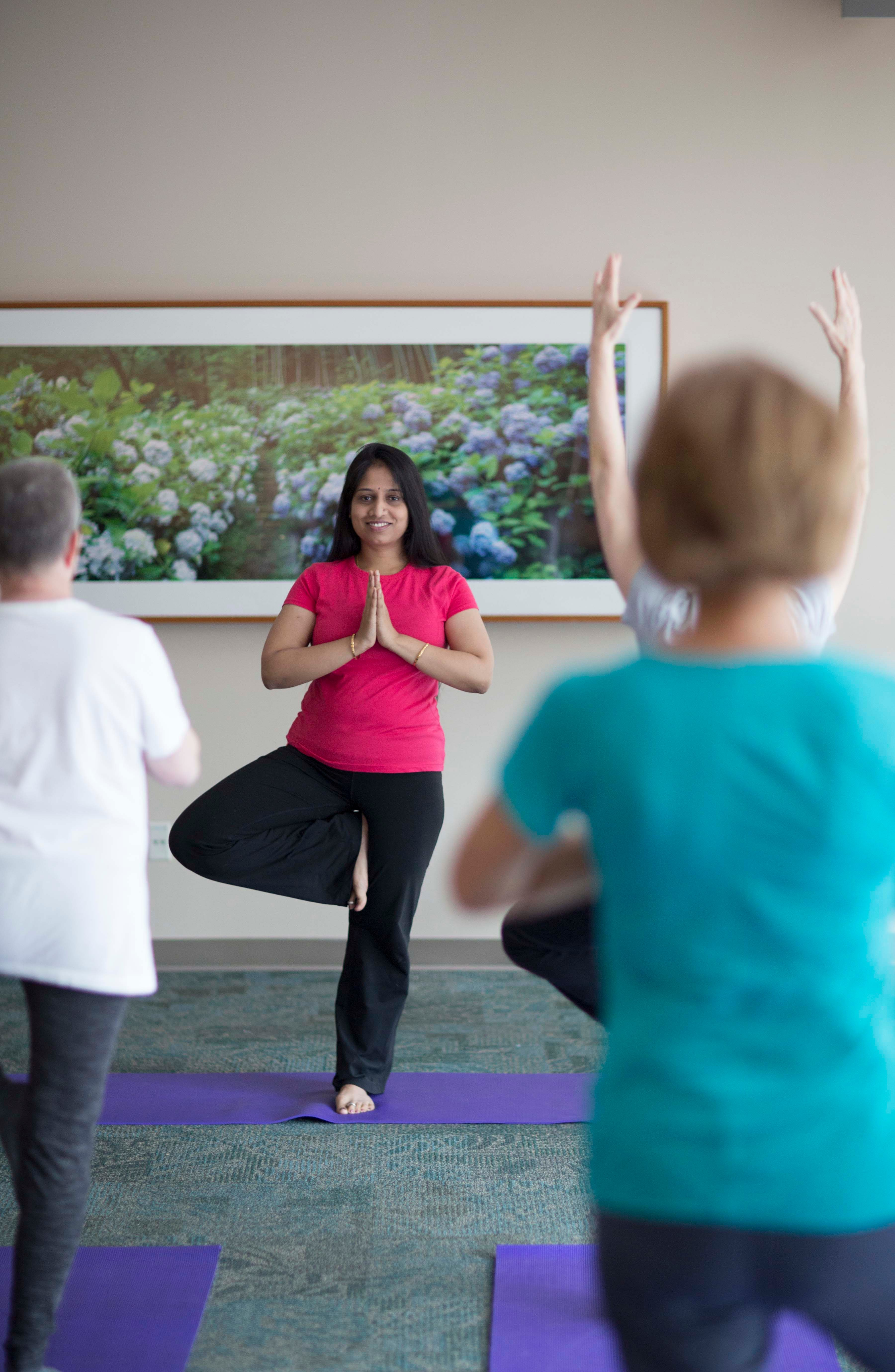 Learn about mind-body classes at MD Anderson.