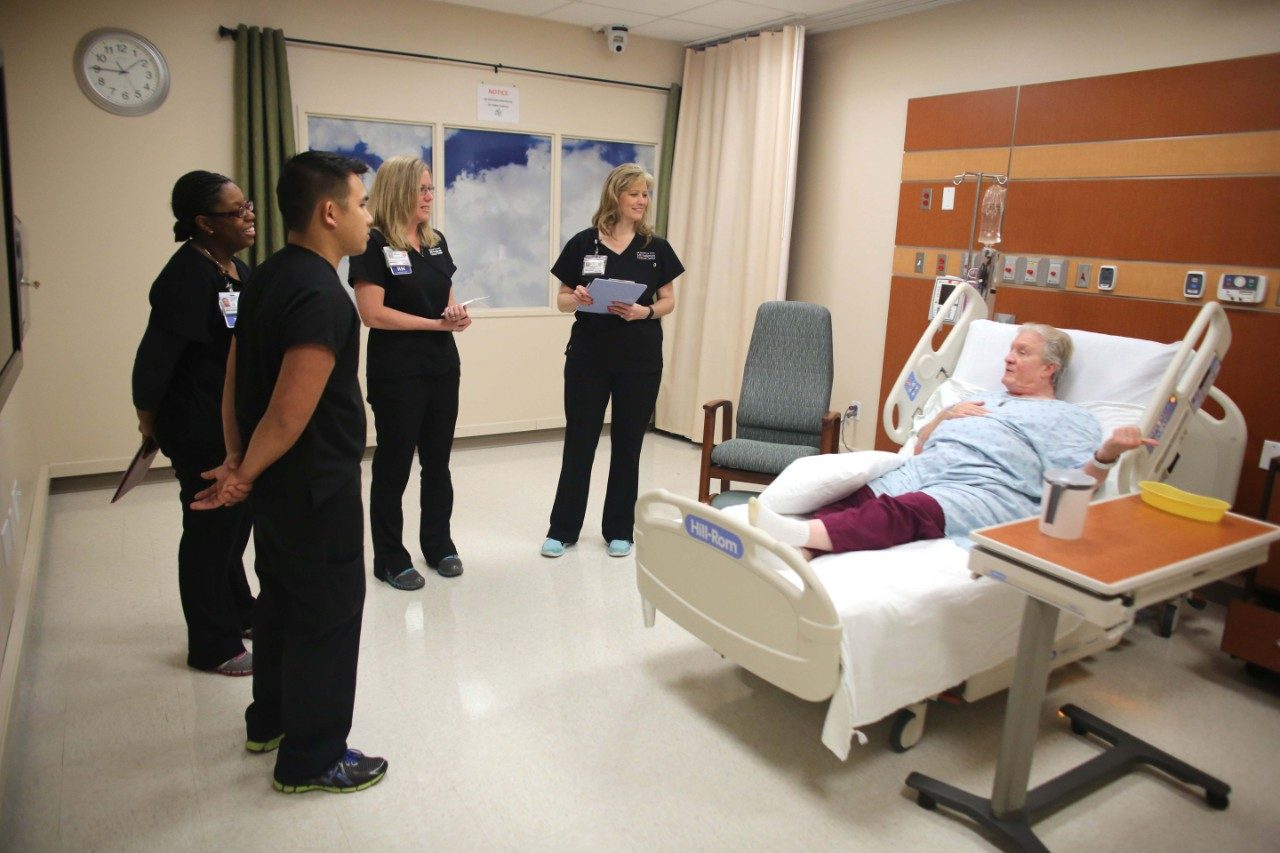 A new nursing training program at MD Anderson helps nurses master the skills needed to be good nurses.