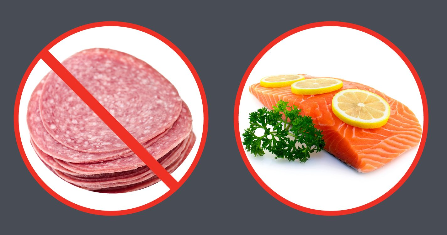 Read about the link between processed meat and colorectal cancer
