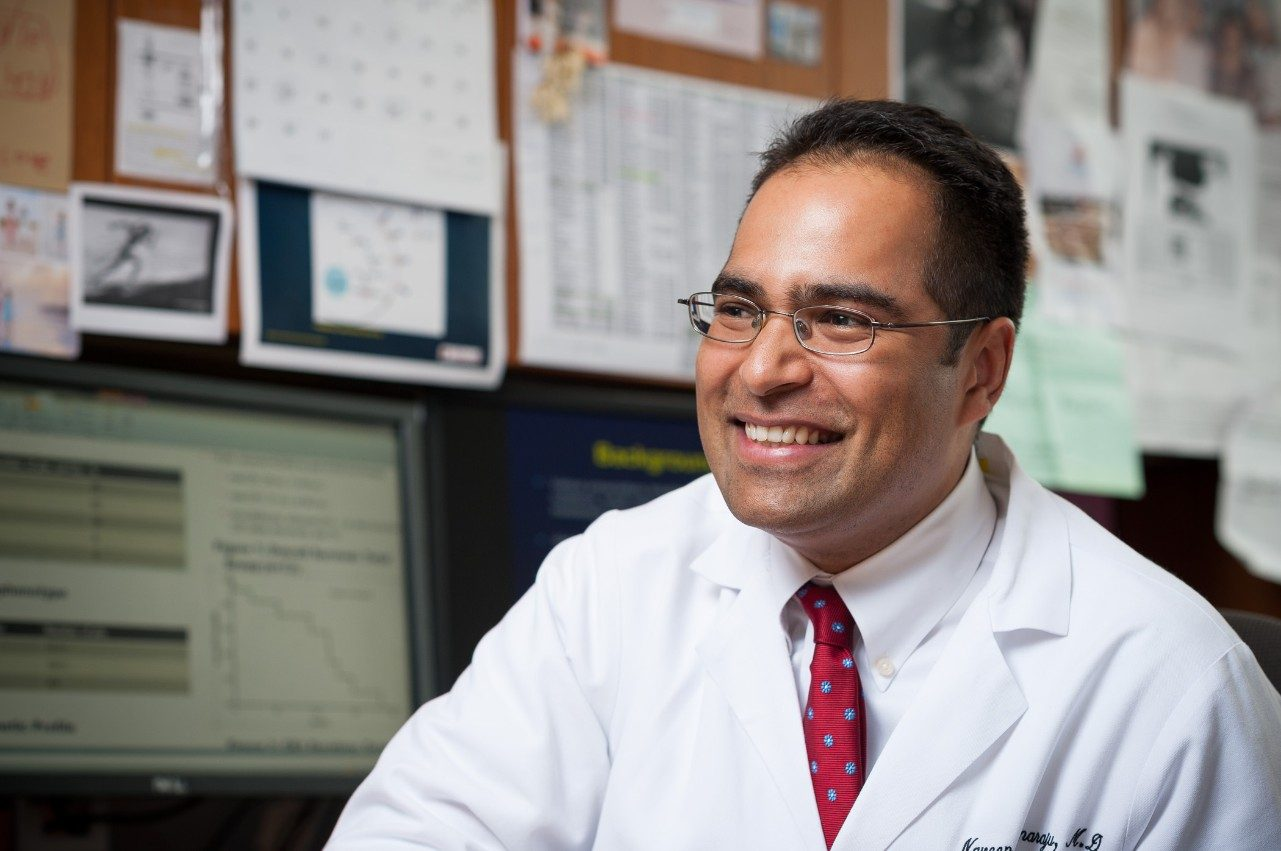 Cancerwise blog post: Naveen Pemmaraju, M.D., discusses acute myeloid leukemia (AML)