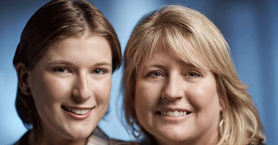 Cancerwise blog post: Michelle and Victoria Collins