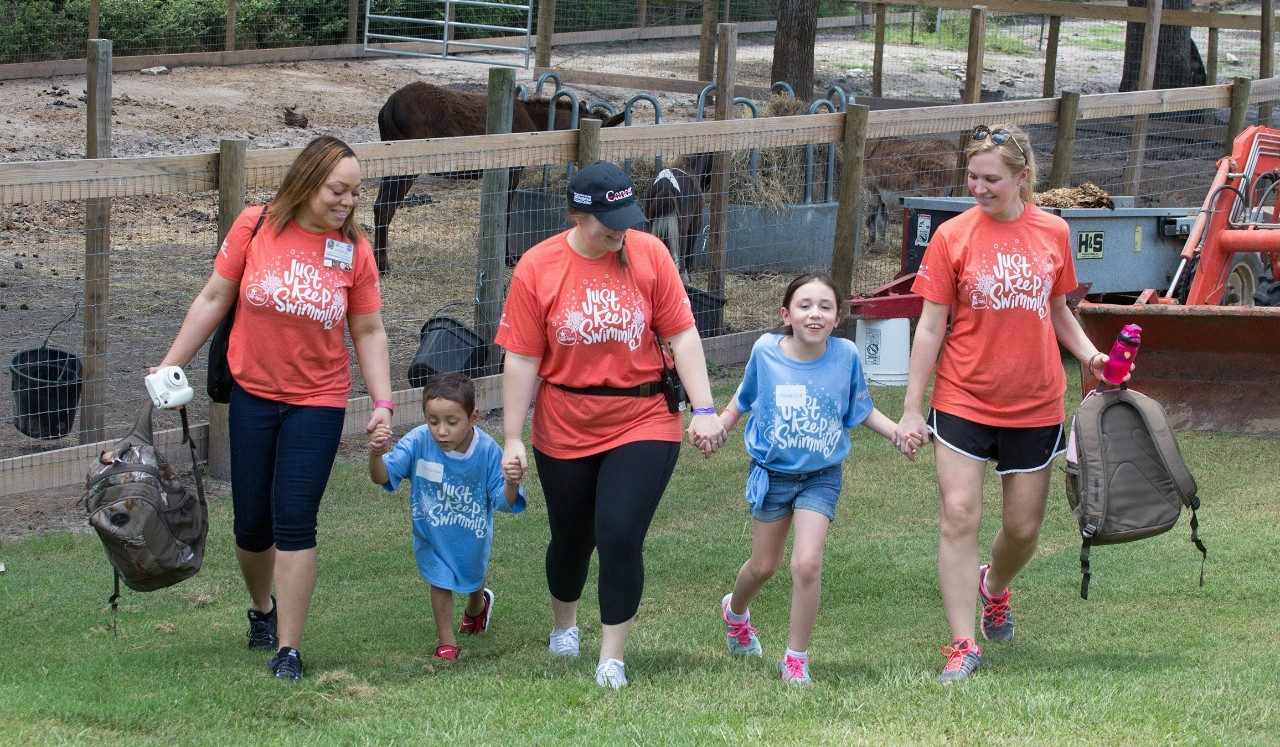 Cancerwise blog: campers participate in the Camps Program