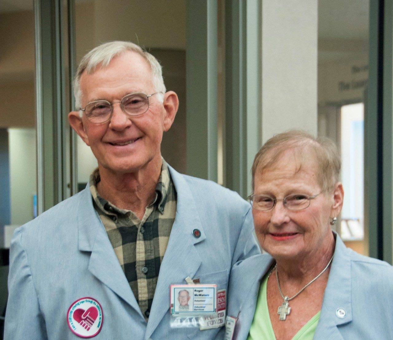 Cancerwise blog post: MD Anderson volunteer Roger McWaters and his late wife, Pat McWaters